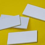 安全标识配件 双面粘贴 泡棉胶带 强粘力双面胶带 25MM*50MM 黏贴