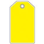 安全挂牌彩色空白挂牌-黄色吊牌 标识牌