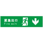 标志牌/提示牌 安全标识牌 紧急出口 向后 推门逃生标识
