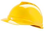V-Gard 梅思安豪华型安全帽 10109012 ABS帽壳+通风孔+轻旋风帽衬+D型下颏带+PVC吸汗带 工作帽
