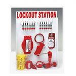贝迪安全锁具 锁具挂板套装 大型锁具箱 配12把钢制挂锁 99697