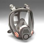 6000系列 全面型防护面具(中号) 3M 6800 全面罩 防毒面罩 防病菌面罩 防护面罩 劳保面罩