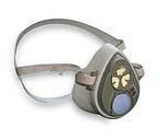 3000系列 半面罩式防毒面具 小号 3M 3100 防流感面罩 防颗粒物面罩 防护面罩 劳保专用 呼吸防护