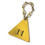 阀门挂牌配件 标牌 铜质16#八字链 标准配置 装置 工业吊牌配件 链条