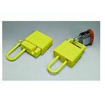 贝迪安全锁具 绝缘锁钩 塑料树脂 黄色 45583