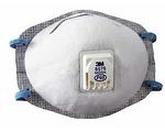 P95 防护口罩(带呼气阀) 头带式 防酸性气体及颗粒物 3M 8576 防病菌口罩 防毒口罩 口罩 劳保口罩