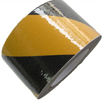 超耐磨 砂面警示防滑胶带 黄黑 楼梯防滑条 防滑地贴 台阶止滑贴