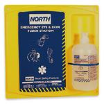 霍尼韦尔 16盎司单瓶装洗眼液配North挂板 127033C 紧急洗眼液 眼部防护 清洗液 护目清洗用品