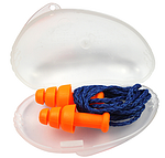 霍尼韦尔SmartFit 防噪音耳塞 SMF-30 可重复使用 带线  圣诞树型耳塞 隔音耳塞 防噪声耳塞 听力防护