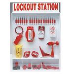贝迪安全锁具 锁具挂板套装 特大型锁具箱 配18把安全挂锁 99693