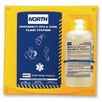 霍尼韦尔 32盎司单瓶装洗眼液配North挂板 127032C 紧急洗眼液 眼部防护 清洗液 护目清洗用品