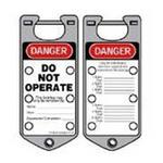 贝迪安全锁具 二合一超耐久搭扣 银色 65961