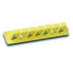 贝迪安全锁具 电器开关锁具 480/600V断路器阻挡器组件 10.1cm黄色安装轨 51264
