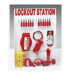 贝迪安全锁具 锁具挂板套装 大型锁具箱 配12把安全挂锁 99699