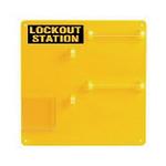 贝迪安全锁具 挂锁管理中心-挂锁板 空挂锁板34.3*34.3cm 50990