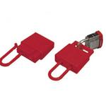 贝迪安全锁具 绝缘锁钩 塑料树脂 红色 45582