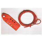 贝迪安全锁具 经济型缆锁 附带塑料涂层钢缆1.8M 45351