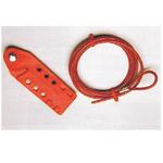 贝迪安全锁具 经济型缆锁 附带塑料涂层钢缆3M 45352