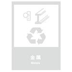 环保 金属 中英文 安全标志牌 环保可回收标识  告示牌 指示牌 提示牌