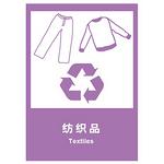 环保 纺织品 中英文 安全标识 环保标识  标志贴 告示牌 指示牌 警示牌