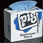 纽匹格NewPig WIP216维修抹布 150片/盒 6盒/箱 化学防溢应急垫 化学吸收垫 吸液棉