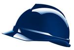 V-Gard 梅思安豪华型安全帽 10108808 PE帽壳+通风孔+轻旋风帽衬+D型下颏带+针织布吸汗带 安全帽
