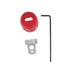 贝迪安全锁具 气源锁具 空气调节器锁 小号 聚丙烯 64539