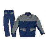 代尔塔 三防系列双色工作服 405368 405369 藏青色 灰色 劳保服 个人防护服