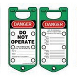 贝迪安全锁具 二合一超耐久搭扣 绿色 65963