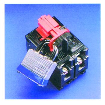 贝迪安全锁具 电器开关锁具 万用多孔断路器锁 66321 万用型断路器锁