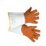 Honeywell 皮革焊接隔热手套 尺寸:10 电焊手套 耐磨手套 隔热手套