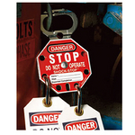 贝迪安全锁具 SHOCK-STOP锁钩 锁孔直径7.9mm 87693