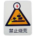 禁止烧荒 电力行业标识牌 告示牌 指示牌 警示牌 警告牌