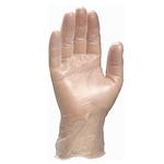 PVC一次性防护手套 代尔塔 201371 100只/盒 个人安全防护 手部防护 劳保用品 PPE