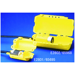 贝迪安全锁具 Hubbell插头锁 小号 黄色 65695