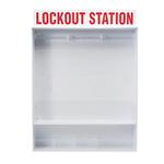 贝迪安全锁具 锁具挂板套装 大型锁具箱 空箱 50994