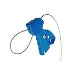 贝迪安全锁具 独创缆锁 蓝色 配镀锌钢缆直径0.3CM 45191