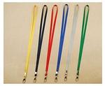 胸卡钩带-黄色 1CM*86CM 尼龙织带