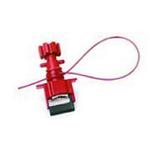贝迪安全锁具 阀门锁具 万用阀锁线缆 2.4M涂层线 51395