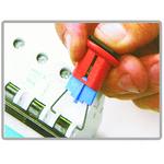 贝迪安全锁具 电器开关锁具 微型断路器锁 PIS针脚向内 90847