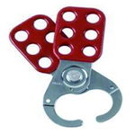 贝迪安全锁具 钢制锁具搭扣 叉钳直径3.8CM 105719