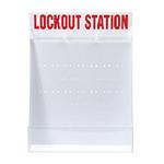 贝迪安全锁具 锁具挂板套装 特大型锁具箱 空箱 50993