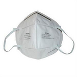 折叠式防尘口罩 耳带式 3M 9001A 防病菌口罩 防护口罩 劳保口罩 口罩 防护口罩 防毒口罩 呼吸防护