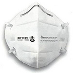 N95颗粒物防护口罩 头带式 3M 9010 防病菌口罩 口罩 防尘口罩 防毒口罩 呼吸防护 防护用品 个人防护
