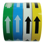 箭头警示胶带 安全警示地贴 箭头胶带 乙烯划线胶带 贴地指示胶布