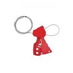 贝迪安全锁具 独创缆锁 红色 配镀锌钢缆直径0.3CM 65318