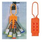 贝迪安全锁具 绝缘搭扣 尼龙 锁孔直径0.95CM 99668