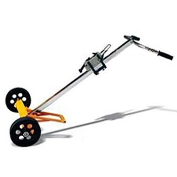 油桶搬运小车 机械式油桶搬运小车 手推油桶车 橡胶轮两轮叉车 油桶专用工具