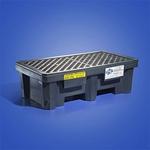 纽匹格NewPig pak605两桶盛漏托盘平台 聚乙烯盛漏托盘 工业防溢台