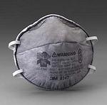 R95 有机气体防护口罩 头带式 3M 8247 口罩 防尘口罩 防毒口罩 防护口罩 劳保口罩 呼吸防护 劳保防护